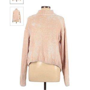 SANCTUARY Pale Pink Soft Sweater Sz L